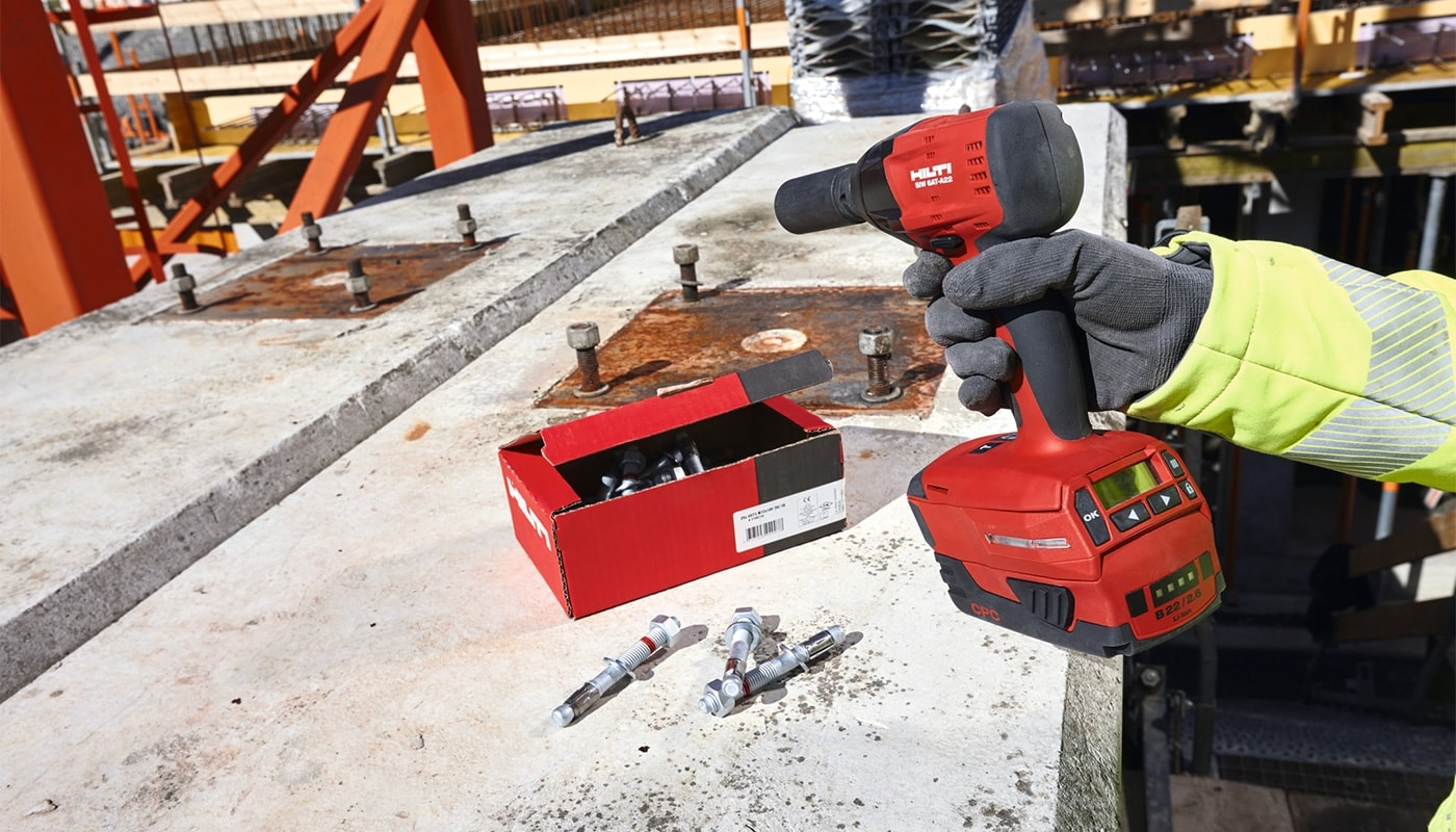 Hilti wedge anchors are available in three different performance levels